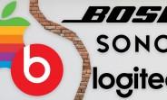 Apple прекращает продажу продуктов Bose, Logitech и Sonos