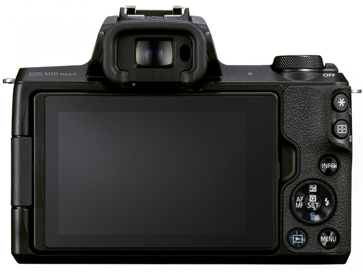 Canon announces EOS M50 Mark II with minor improvements
