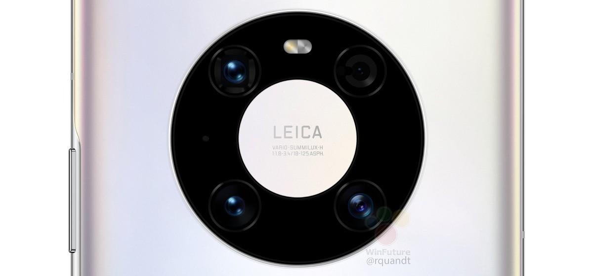 Подробная утечка Huawei Mate 40 Pro описывает классическую 12-мегапиксельную камеру с 5-кратным зумом и 6,76-дюймовым дисплеем