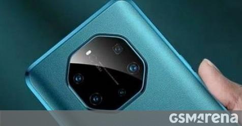 Các bề mặt hộp bán lẻ Huawei Mate 40 Pro +, cả ốp lưng nữa