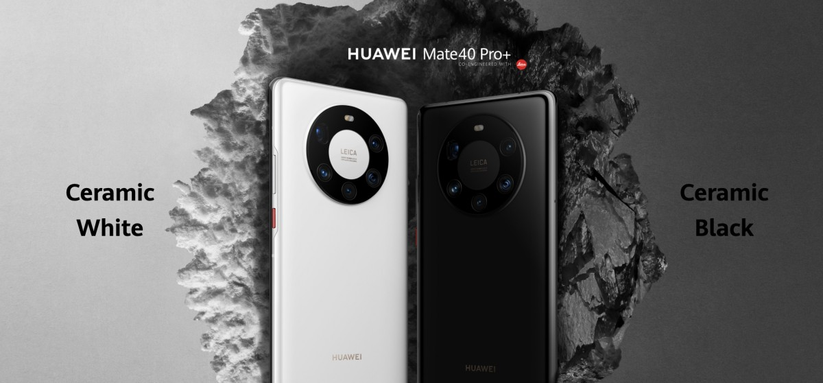 Huawei Mate 40 Pro, Pro+ and RS unveiled with 6.76'' 90 Hz displays, 50 MP main camera