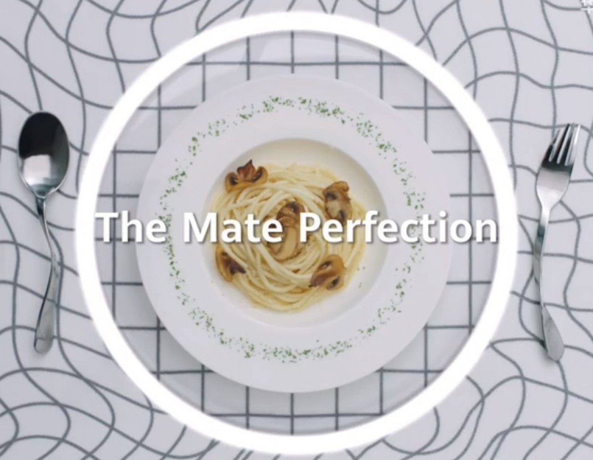 Another Huawei Mate 40 Pro teaser, this one's about ultra-wide lens distortion