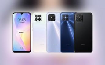 Huawei nova 8 series phones certified with 66W charging