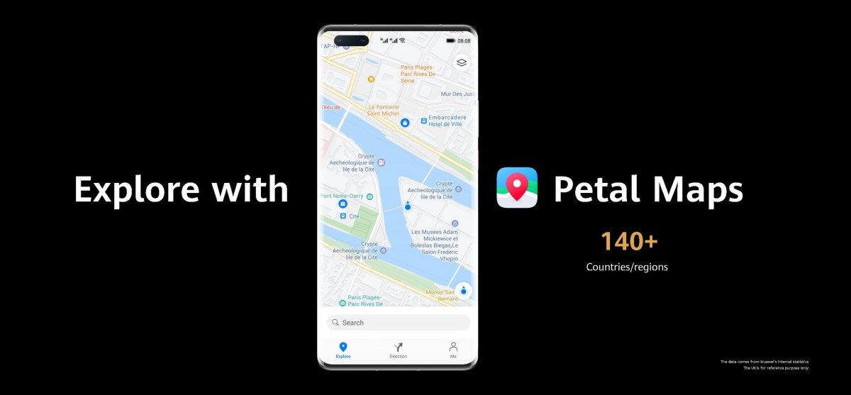 Huawei unveils Petal Maps, Docs and adds more Petal Search functionality