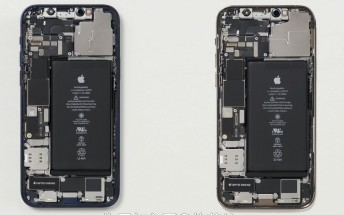 Teardown reveals the iPhone 12 and 12 Pro are almost identical on the inside