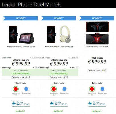 Lenovo Legion Duel now available in Europe with some early bird deals
