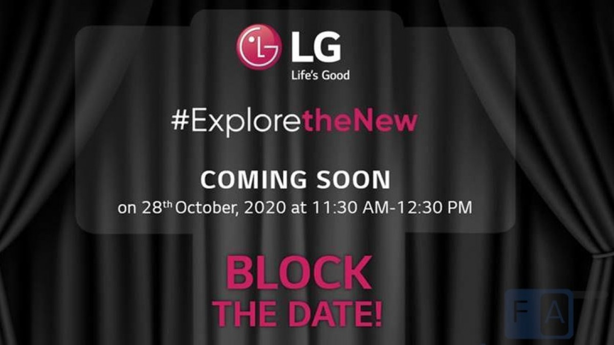 LG Wing teased in India for October 28`