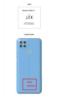 Motorola XT2091 FCC listings