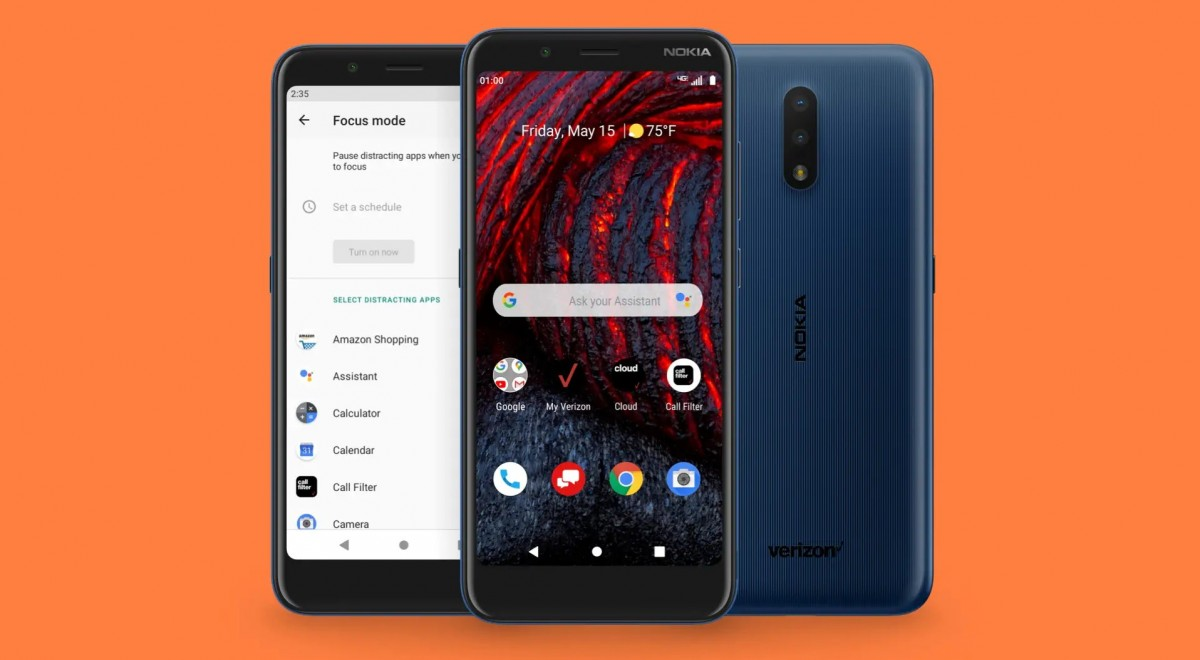 Nokia 2 V Tella for Verizon arrives at Walmart for $89, packs a 5.45'' screen, 8+2 MP camera