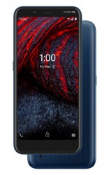 The Nokia 2 V Tella is available only in Blue