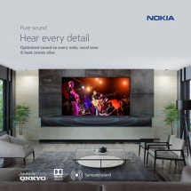 New Nokia TVs key features