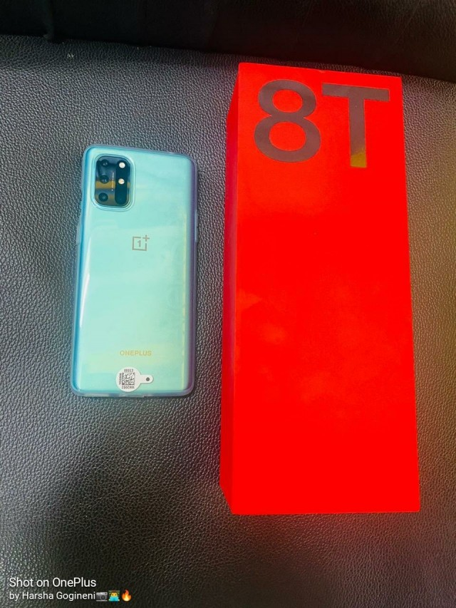 OnePlus 8T live look