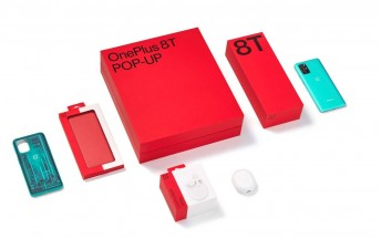 The OnePlus 8T pop-up bundle comes with free Buds and Quantum case