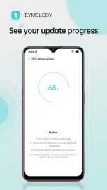 HeyMelody let's you update the firmware on your OnePlus and Oppo TWS headsets