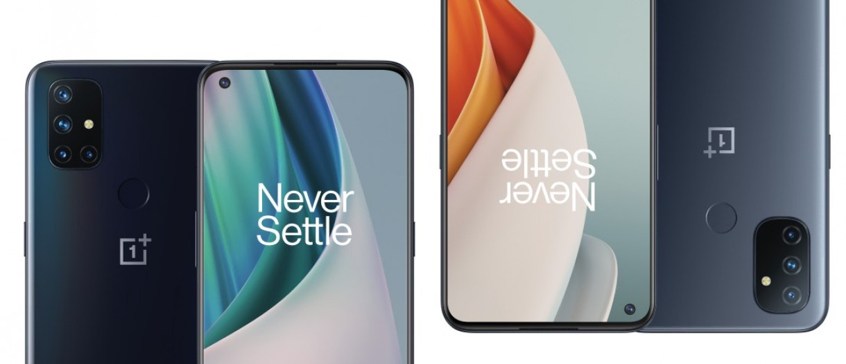 OnePlus Nord N10 5G and N100 unveiled: mid-rangers with LCDs and Snapdragon  chipsets - GSMArena.com news