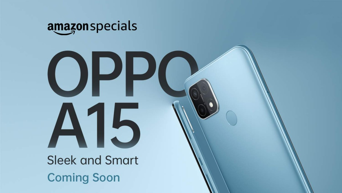 Oppo A15 launching in India soon