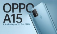 Oppo A15 coming to India on Thursday
