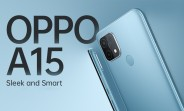 Oppo A15 goes official with Helio P35 and 4,230 mAh battery