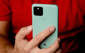 Google Pixel 5 in for review