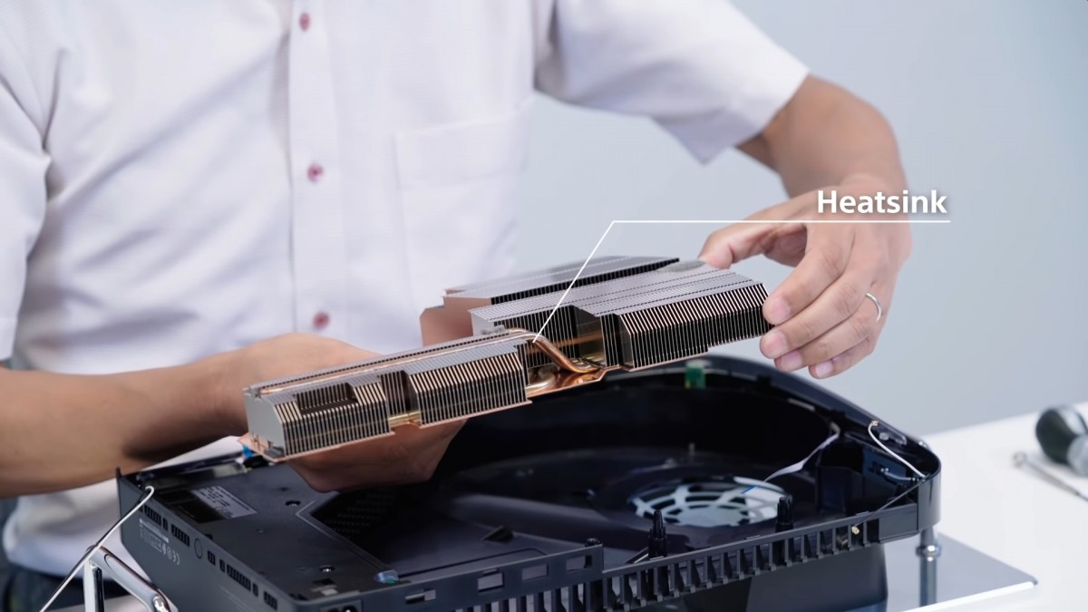 Sony's PlayStation 5 teardown reveals massive heatsink, liquid metal