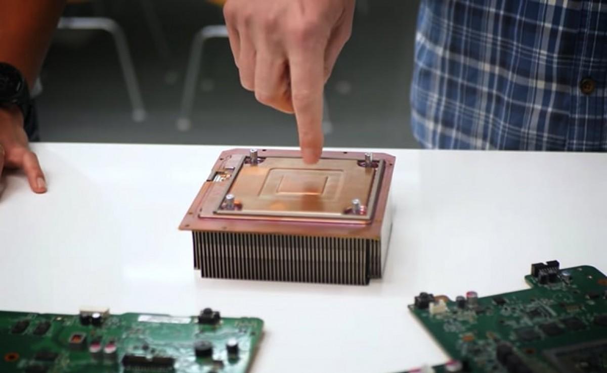 Xbox Series X vapor chamber