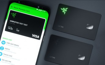 Razer Card announced - a pre-paid Visa card with 1% cashback on all purchases and illuminated logo