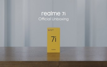 Watch the Realme 7i get unboxed in this official video