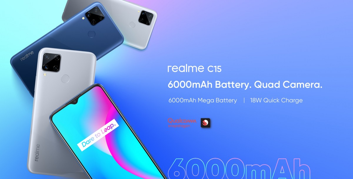 Realme C15 Qualcomm Edition with Snapdragon 460 processor launched in India