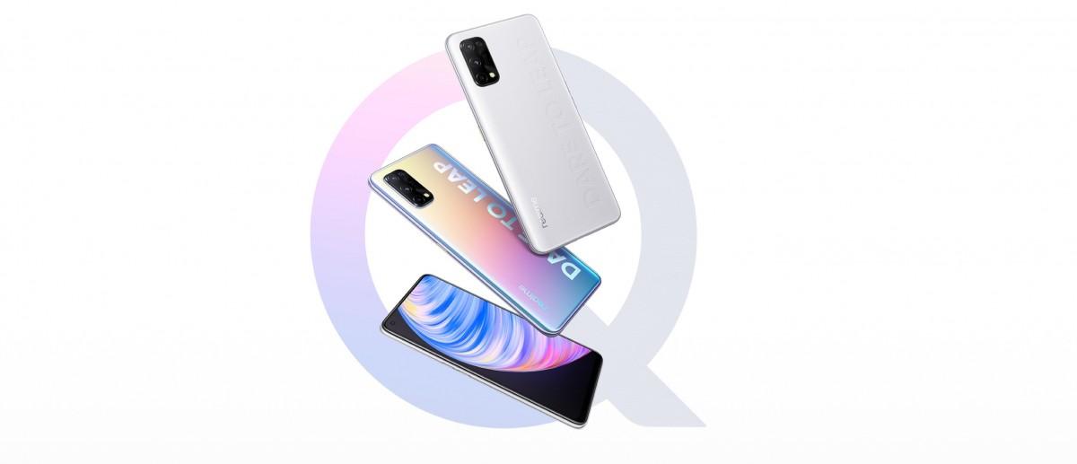 Realme анонсирует три смартфона Q2 с 5G и доступными ценами