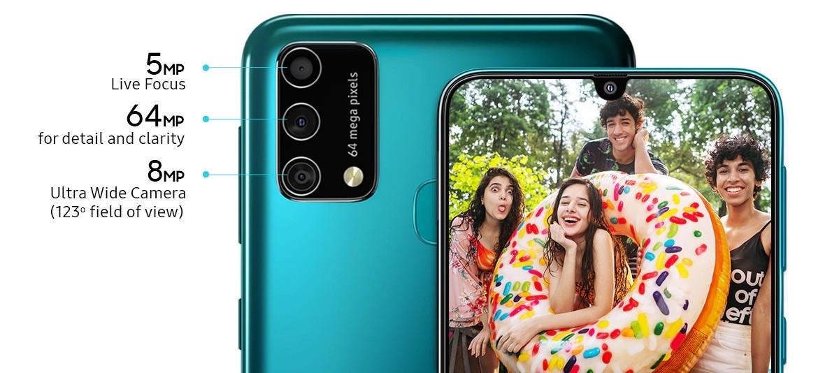 Представлен Galaxy F41: у него батарея на 6000 мАч и камера на 64 МП, как и у M31, но он стоит дешевле