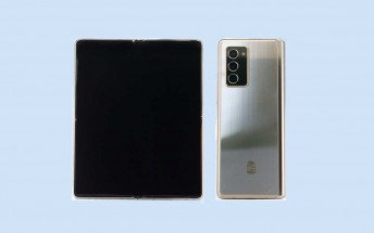 Samsung Galaxy W21 5G passes by TENAA, looks a lot like the Galaxy Z Fold2