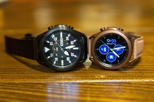 Samsung Gaalxy Watch in 45mm and 41mm sizes