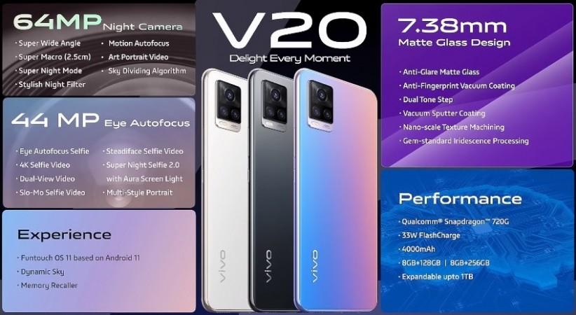 vivo V20 arrives in India, V20 SE coming soon