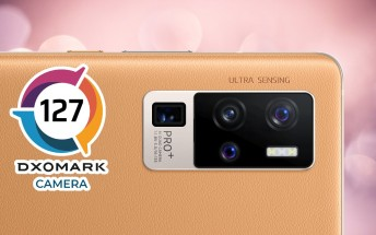 vivo X50 Pro+ gets into the Top 3 of DxOMark's camera rankings