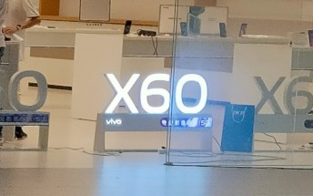 vivo X60 nears launch as retail stores in China start putting up promo materials