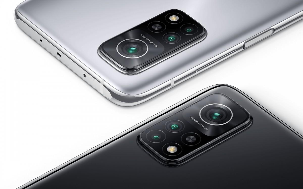 Tiga kamera belakang Redmi K30S