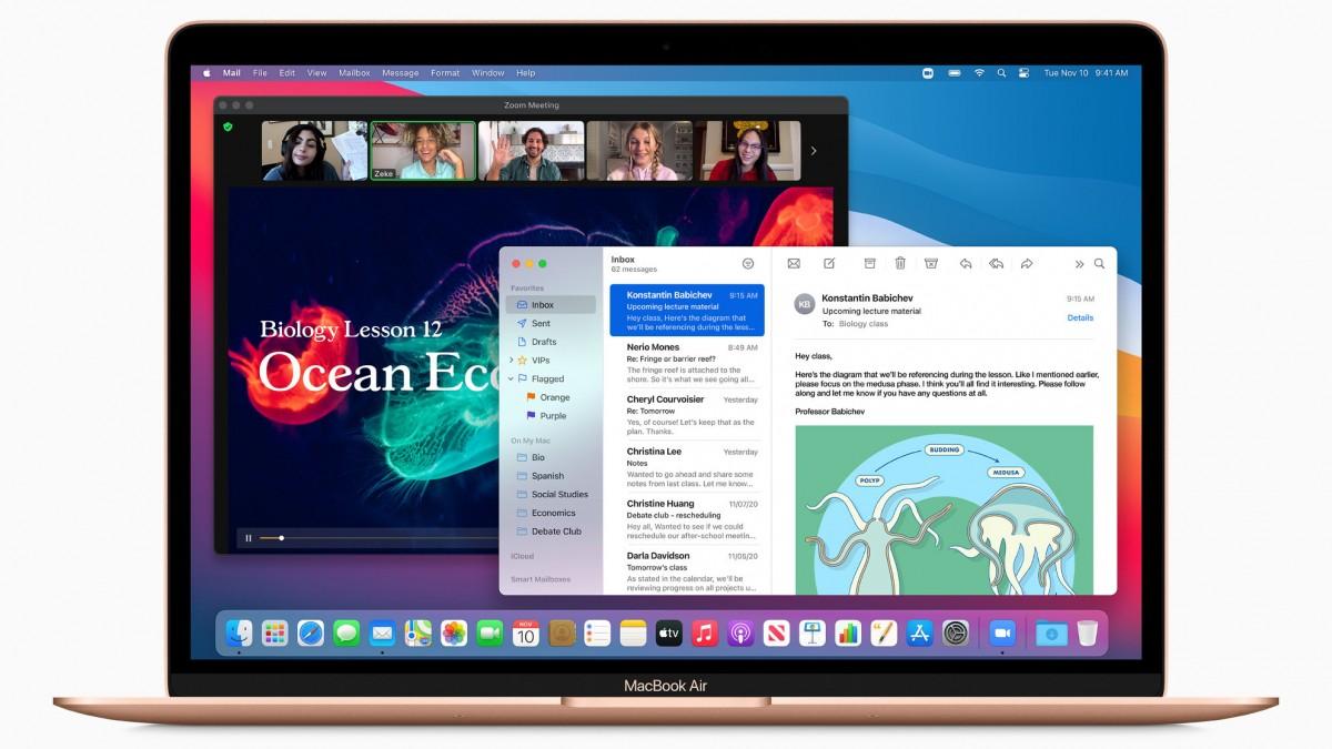 gsmarena 001 - نظام MacOS Big Sur سيكون متاحًا لعامة المستخدمين إبتداءً من 12 نوفمبر