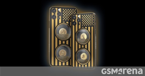 Caviar ra mắt iPhone 12 Pro tùy chỉnh được trang trí bằng chân dung Biden và Trump