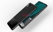 Samsung Galaxy M12 renders show an A42-like design