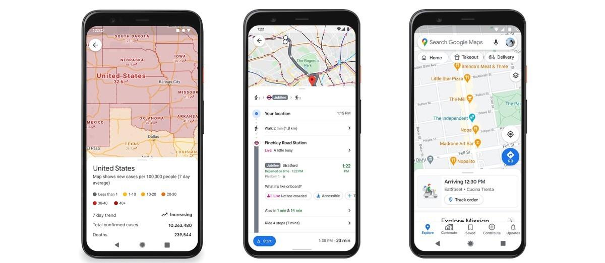 Οι Χάρτες Google εμφανίζουν τώρα οδηγίες και περιορισμούς COVID, σας επιτρέπουν να παραγγείλετε φαγητό