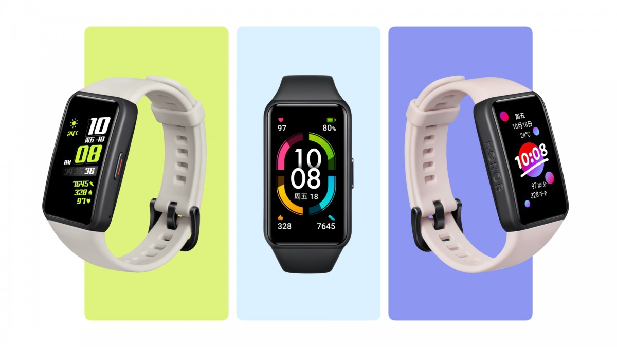 Honor Band 6 blurs the line between smartband and smartwatch
