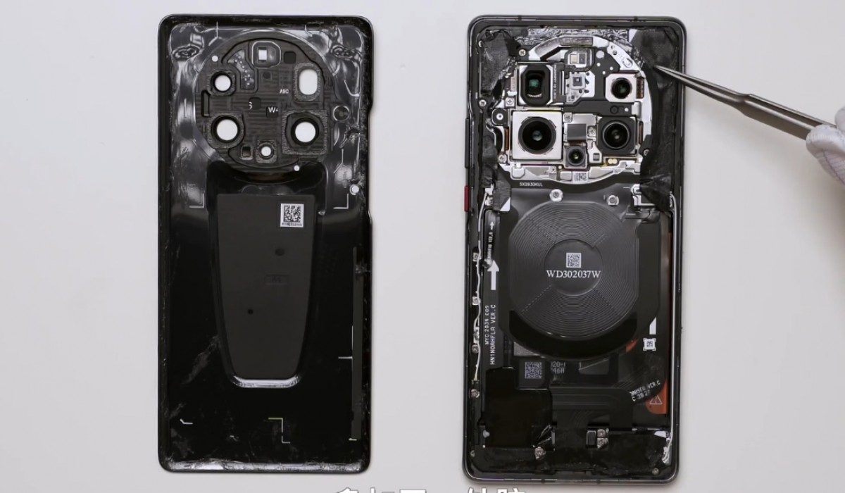 Huawei Mate 40 RS teardown reveals self-developed memory chip