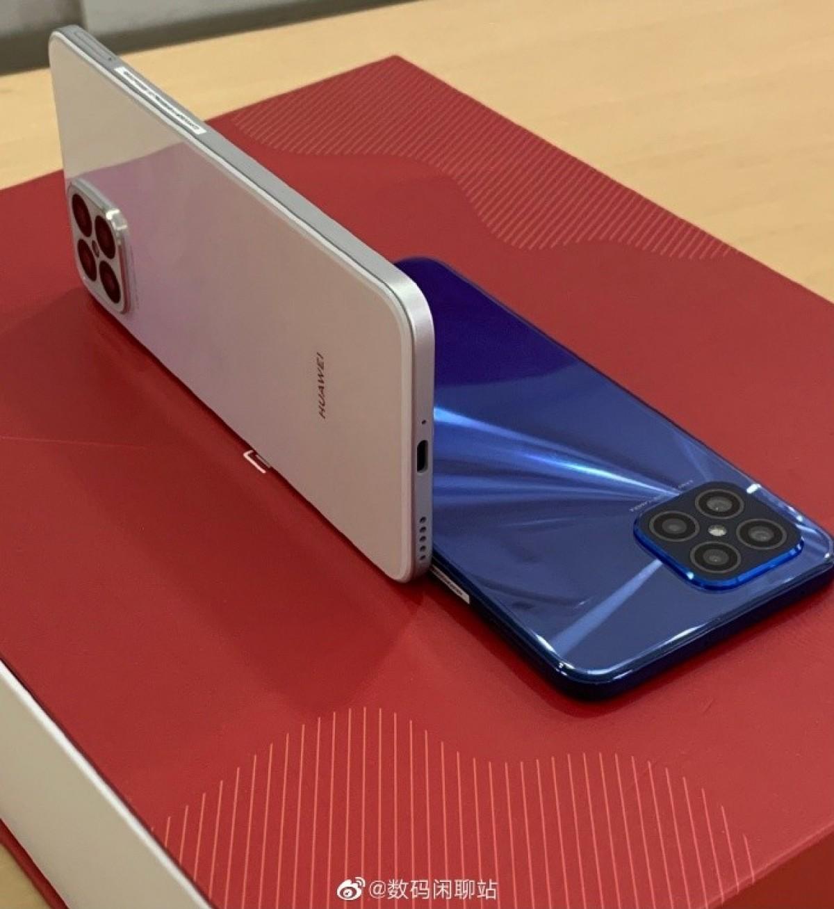 Huawei's nova 8 SE looks just like the iPhone 12, live photos reveal