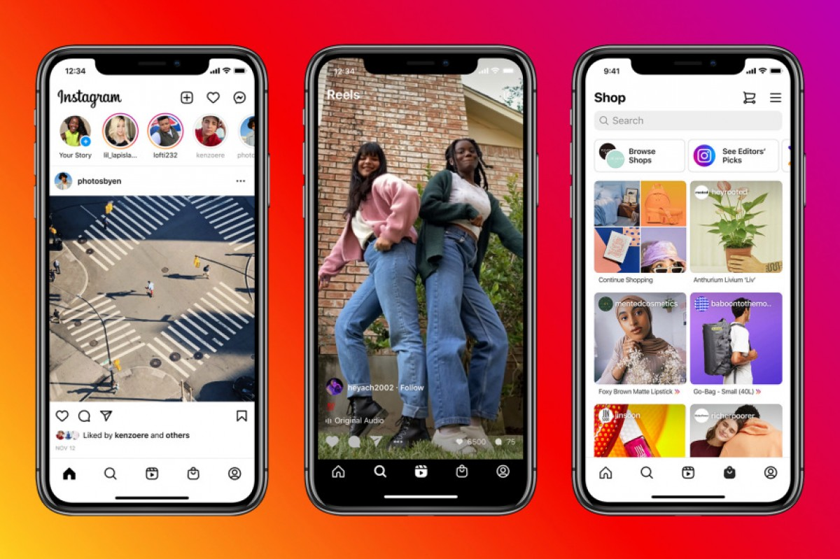 Instagram Changes Its Home Screen, Adds 'Reels' and 'Shop' Tabs