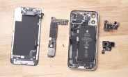 Apple iPhone 12 mini taken apart, it's a tiny iPhone 12