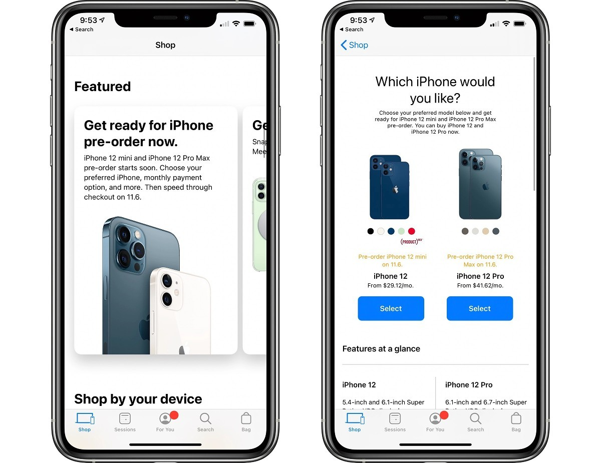 iPhone Upgrade Program subscribers can now lock in their iPhone 12 Pro Max and mini pre-orders
