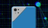 LG Q63 (or Q83) renders show a distinctive triangular camera bump