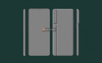 LG Stylo 7 images show ridged design with four cameras and sylus