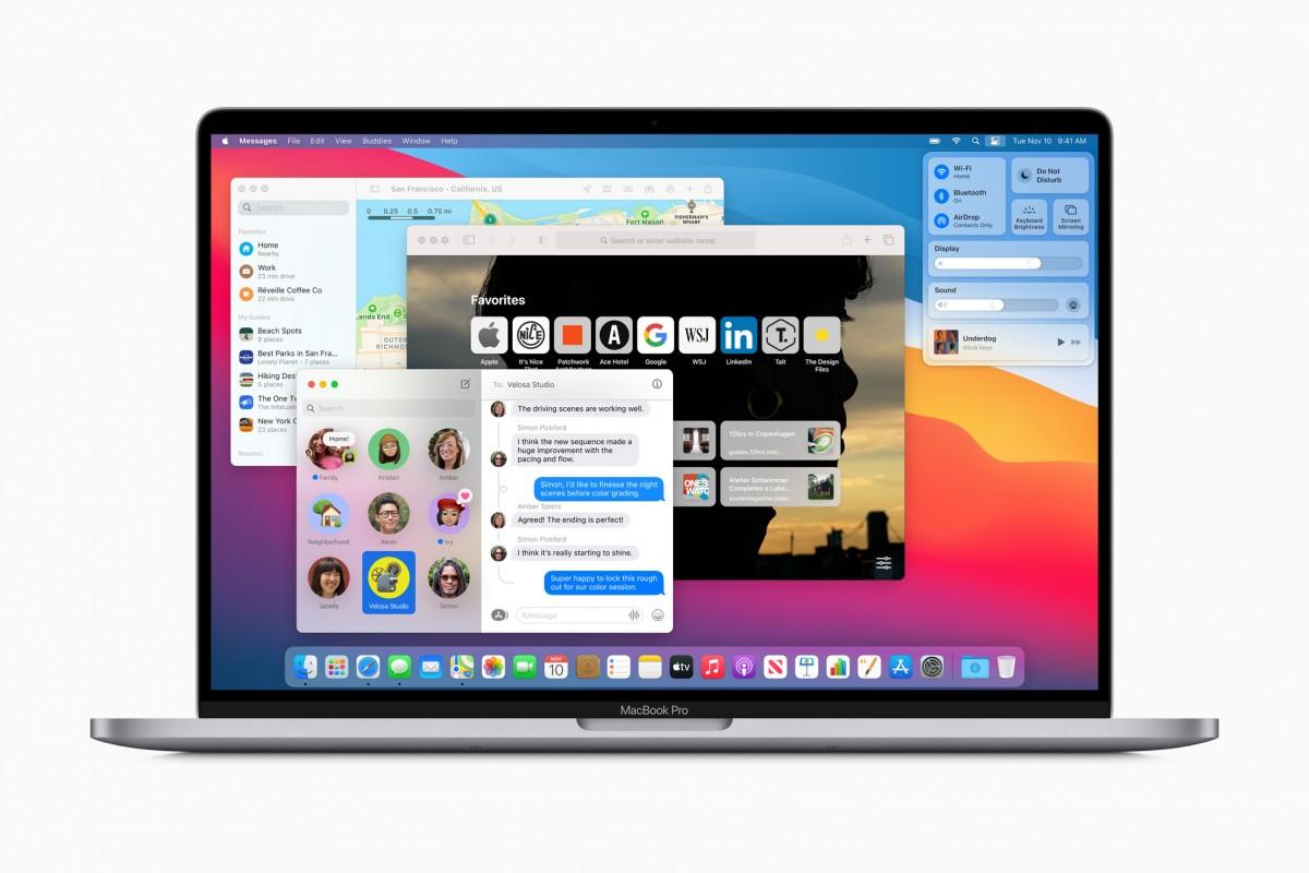 macOS Big Sur ya está disponible