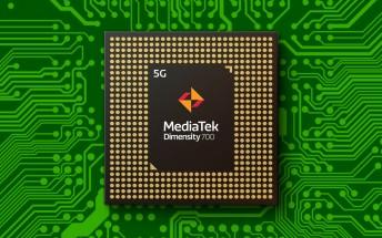 MediaTek unveils Dimensity 700, a 7nm chipset with 5G modem